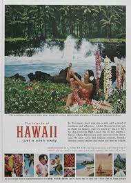 hawaii travel bureau 1963 keanae peninsula 1960s hawaii travel poster