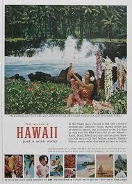 hawaii travel bureau 1963 keanae peninsula 1960s hawaii travel poster