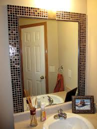 Bathroom Wall Mirror Ideas Fantastic Bathroom Wall Mirrors Framing Mirror Ideas How To
