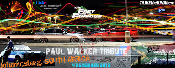 paul walker porsche crash paul walker tribute run in johannesburg