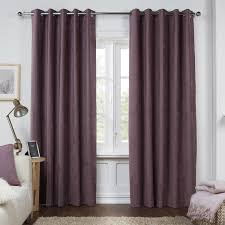 Wide Window Curtains by Curtains Lavender Blackout Curtains With Elegant Look To Any Room