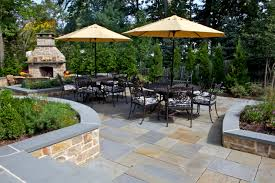Inexpensive Patio Umbrellas by Decor U0026 Tips Terrific Paver Patio Ideas With Patio Furniture And