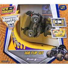 bright 1 43 scale monster jam mohawk warrior 360 flip