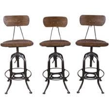 Vintage Industrial Bar Stool Would Love To Find 4 Chairs Similar To These That Don U0027t Cost A