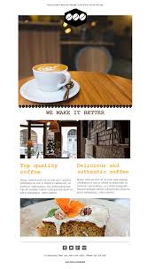 Et Coffee free email templates design coffee shop tables
