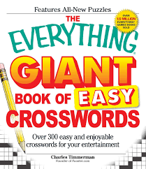 the everything giant book of easy crosswords over 300 easy and