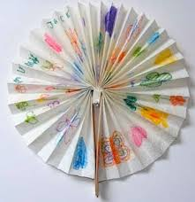 how to make a fan out of paper how to make a paper fan things to make and do crafts and