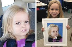 The Chloe Meme - so side eyeing chloe is all grown up now and my heart can t take it