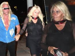 dog the bounty hunter s wife beth wears black dress amid cancer battle