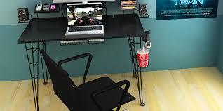High End Computer Desk Miraculous Design Corner Desk For 2 Computers Unusual V Shaped