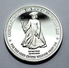 graduation medallion congratulation on your graduation medallion 1 oz 999 silver