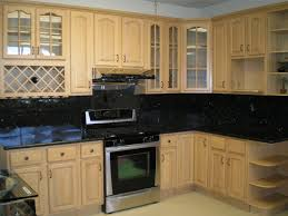 Steel Kitchen Backsplash Home Design 87 Astonishing Black Glass Tile Backsplashs