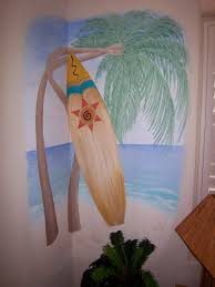 Surf Mural by Decrative Paiinting Murals Central Valley Imagine A Mural