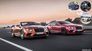 2018 bentley continental gt supersports coupe and convertible
