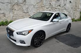 infiniti q50 2017 white q50 gwg wheels