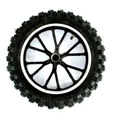 Mini Dirt Bike Front Wheel And Tyre Complete Bikes 4 Fun