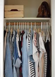 how i organize my closet in a small home wild u0026 pine