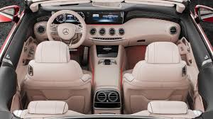 inside maybach 2017 mercedes maybach s650 cabriolet interior youtube