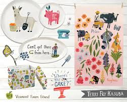 home decor line terri fry kasuba illustration