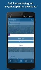 repost instagram apk insave repost for instagram apk free social app for