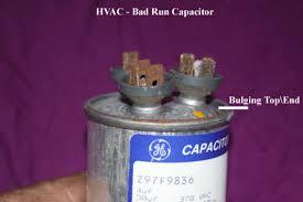 hvac outside compressor or fan motor not running
