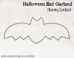 Bat For Halloween Larissa Another Day Halloween Bat Garland Tutorial