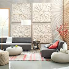 wall arts large white wood wall white wood medallion wall