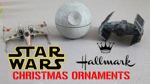 wars ornaments put on a show 2017 hallmark jedi