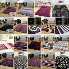 Large Purple Rugs Small Medium Extra Large Rugs Purple Rug Plum Aubergine Mats Soft
