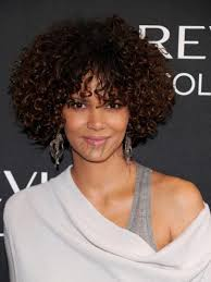 styling medium afro halle berry hairstyle super charming afro medium curl lace front wig