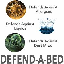 modern sleep defend a bed deluxe waterproof mattress protector