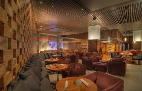 modern decor hospitality restaurant interior design of stripsteak