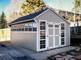 salt box shed 14 x 20 custom teton structures