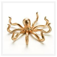 metal octopus ring holder images Octopus resin ring holders vanity dresser decor rose gold jpg