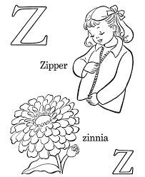 123 coloring pages alphabet coloring pages letter z free printable farm abc