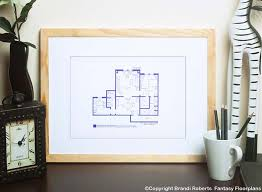 Fantasy Floor Plans Office Layout Of Agent Fox Mulder
