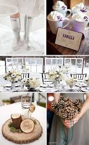 themed wedding decor best ideas on winter themed wedding details brides