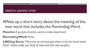 Hit The Floor Meaning - lincs vocabulary strategy steps 1 write down the vocabulary word
