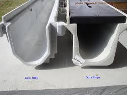 z886 v dura end view foundation and yard drainage ideas