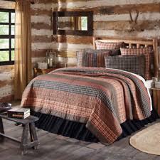 beckham vhc brands patchwork quilt shams 3pc bedding set