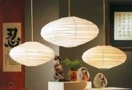 Paper Pendant Lights Bamboo Pendant Light Foter