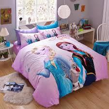 Frozen Bed Set Disney 100 Cotton Pink Frozen Bedding Set Duvet Cover