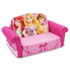 Kids Fold Out Sofa by Spin Master Marshmallow Furniture Flip Open Sofa Disney Princess