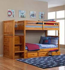 bunk beds twin over full bunk bed plans with stairs kids bunk