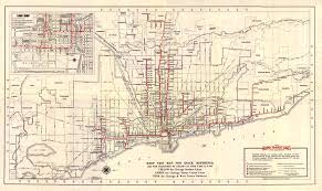 Rush Street Chicago Map by Chicago U0027 U0027l U0027 U0027 Org System Maps Route Maps