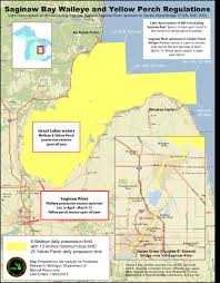 Map Of Michigan Lakes Dnr Michigan Fishing Guide