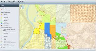 Utah County Parcel Map Moab Ut Official Website City Maps