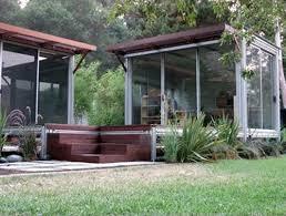 Backyard Office Prefab by Kithaus K3 Prefab Modular Unit In Malibu California Backyard