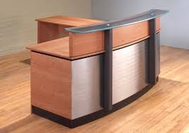 L Shaped Reception Desks Stainless Steel Reception Desk L Shaped Reception Desk