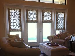 the ideas of window treatments for french doors classy door design